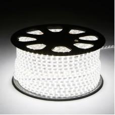 Светодиодная лента 220V GY-SMD3014-120L-W (12W/M) холодный белый