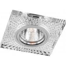 Светильник встраиваемый Feron 8998-2 потолочный MR16 G5.3 прозрачный