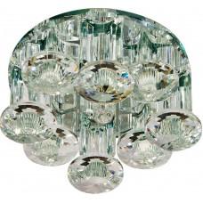 Светильник встраиваемый Feron 1527 потолочный JCD9 G9 прозрачный