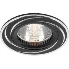 Светильник встраиваемый Feron GS-M361 потолочный MR16 G5.3 черный