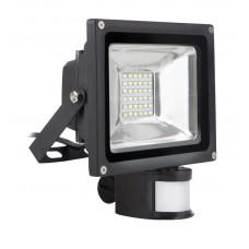 Светодиодный (LED) прожектор FL Sensor Smartbuy-50W/6500K/I65