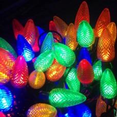 Гирлянда уличная Шишки LED 100 RGB 10 м