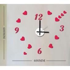 Часы-наклейка на стену Feron NL37 с питанием от батареек