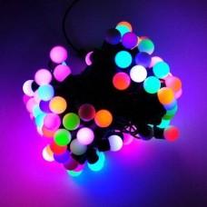 Гирлянда шарики LED RGB 28 4 м