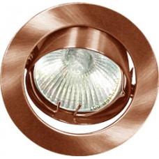Светильник встраиваемый Feron 2010DL потолочный MR16 G5.3 античная медь