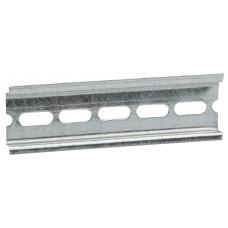 DIN-рейка 7,5х35 мм (110мм), оцинкованная, стандартный шаг перфорации (100/10500)