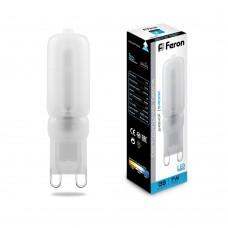 Лампа светодиодная Feron LB-431 G9 7W 6400K