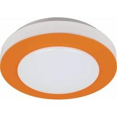 Светодиодный светильник накладной Feron AL539 тарелка 8W 6400K оранжевый