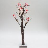 Светодиодное дерево Feron LT042 с тёплой белой LED подсветкой от батареек, высота 60 см