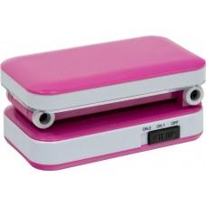 Настольный светодиодный светильник Feron DE1700 2W, розовый