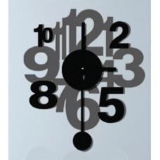 Часы-наклейка на стену Feron NL33 с питанием от батареек