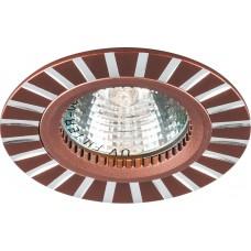 Светильник встраиваемый Feron GS-M364 потолочный MR16 G5.3 коричневый