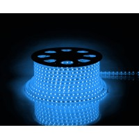 Cветодиодная LED лента Feron LS707, 60SMD(5050)/м 14.4Вт/м 50м IP68 220V синий