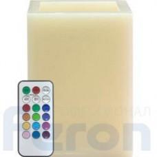 Декоративная свеча Feron FL082 c RGB LED подсветкой, с пультом управления