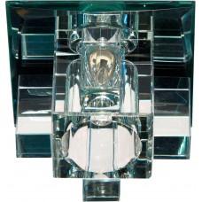 Светильник встраиваемый Feron 1525 потолочный JCD9 G9 прозрачный