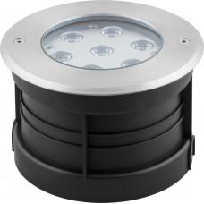 Светодиодный светильник тротуарный (грунтовый) Feron SP4314 Lux 7W RGB 230V IP67