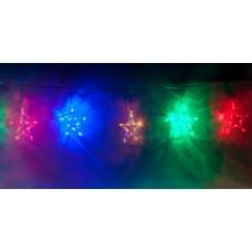 Светодиодная гирлянда Feron CL107 фигурная 220V разноцветная c питанием от сети