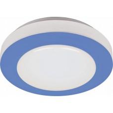 Светодиодный светильник накладной Feron AL539 тарелка 8W 6400K голубой