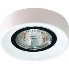Светильник встраиваемый Feron DL110-C потолочный MR16 G5.3 белый