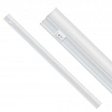 ULI-P20-18W/SPSB IP40 WHITE Светильник для растений светодиодный линейный, 550мм, выкл. на корпусе. Спектр для рассады и цветения. TM Uniel