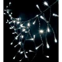 Светодиодная гирлянда Feron CL17 бахрома 230V белый c питанием от сети