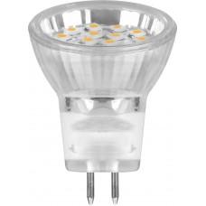 Лампа светодиодная Feron LB-27 MR11 G5.3 1W 3300K