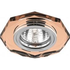 Светильник встраиваемый Feron 8020-2 потолочный MR16 G5.3 коричневый