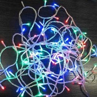 Линейная гирлянда LED 280 цветная 14 м