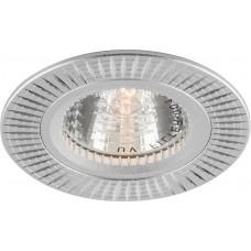 Светильник встраиваемый Feron GS-M369 потолочный MR16 G5.3 серебристый