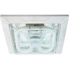 Светильник накладной с энергосберегающей лампой 2D GR10Q 21W белый, DL43