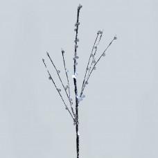 Ветка декоративная светодиодная Feron LD209B c белой подсветкой от батареек, высота 62 см