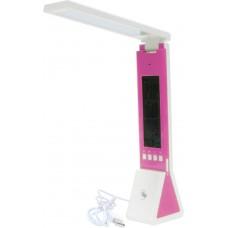 Настольный светодиодный светильник Feron DE1711 2W, розовый