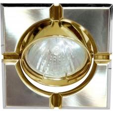 Светильник встраиваемый Feron 098T-MR16-S потолочный MR16 G5.3 титан-золото