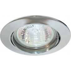 Светильник встраиваемый Feron DL308 потолочный MR16 G5.3 хром