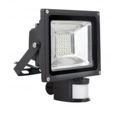 Светодиодный (LED) прожектор FL Sensor Smartbuy-30W/6500K/I65