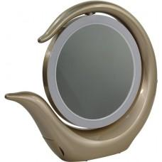 Настольное зеркало Smartbuy с LED подсветкой 002/7+ Golden (SBL-Mr-022-Golden)