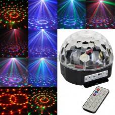 Диско шар светодиодный RGB с МР3 плеером