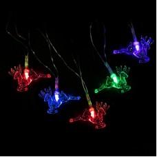 """Гирлянда """"Дед мороз"""" RGB LED 4 м"""