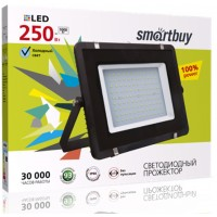 Светодиодный (LED) прожектор iPad style Smartbuy SB-250W/6500K/IP65 (SBL-FLIP-250-65K)
